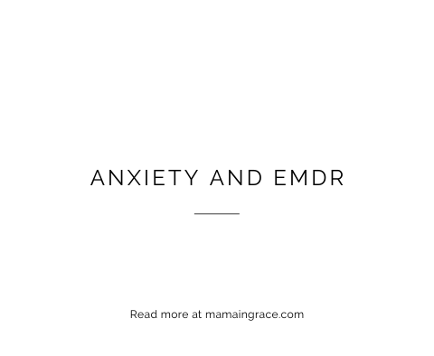anxiety and emdr