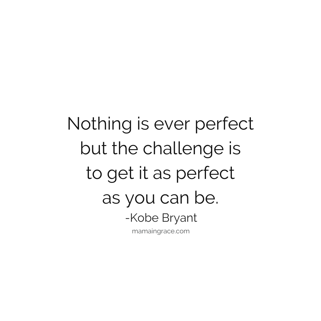 nothing is perfect