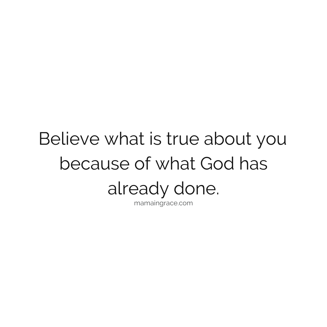 believe what is true